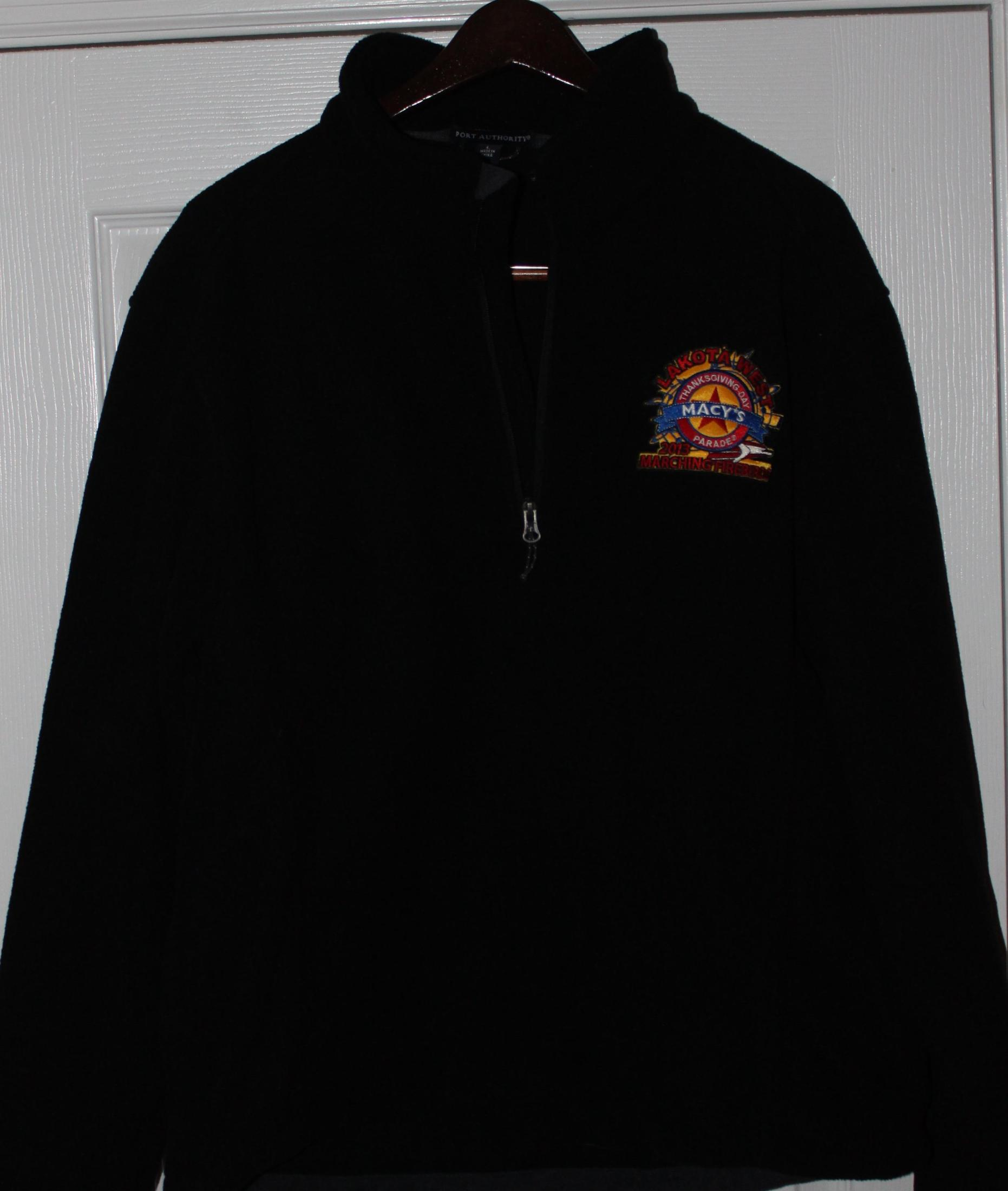 Macy's Fleece half zip