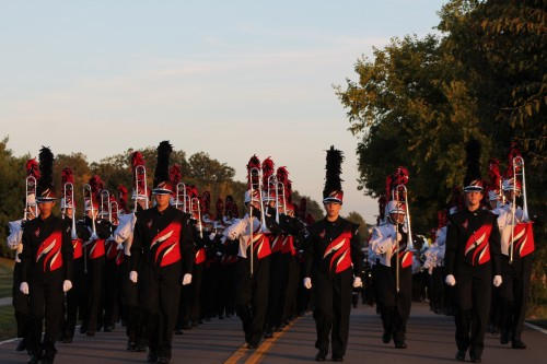 Lakota West Marching Firebirds