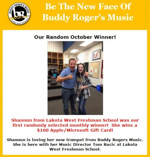 October - Buddy Rogers Music
