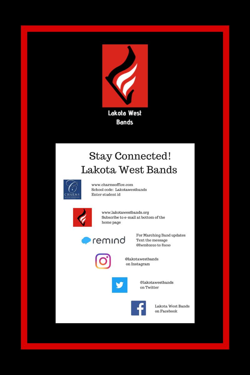 Lakota West Bands Update: April 30
