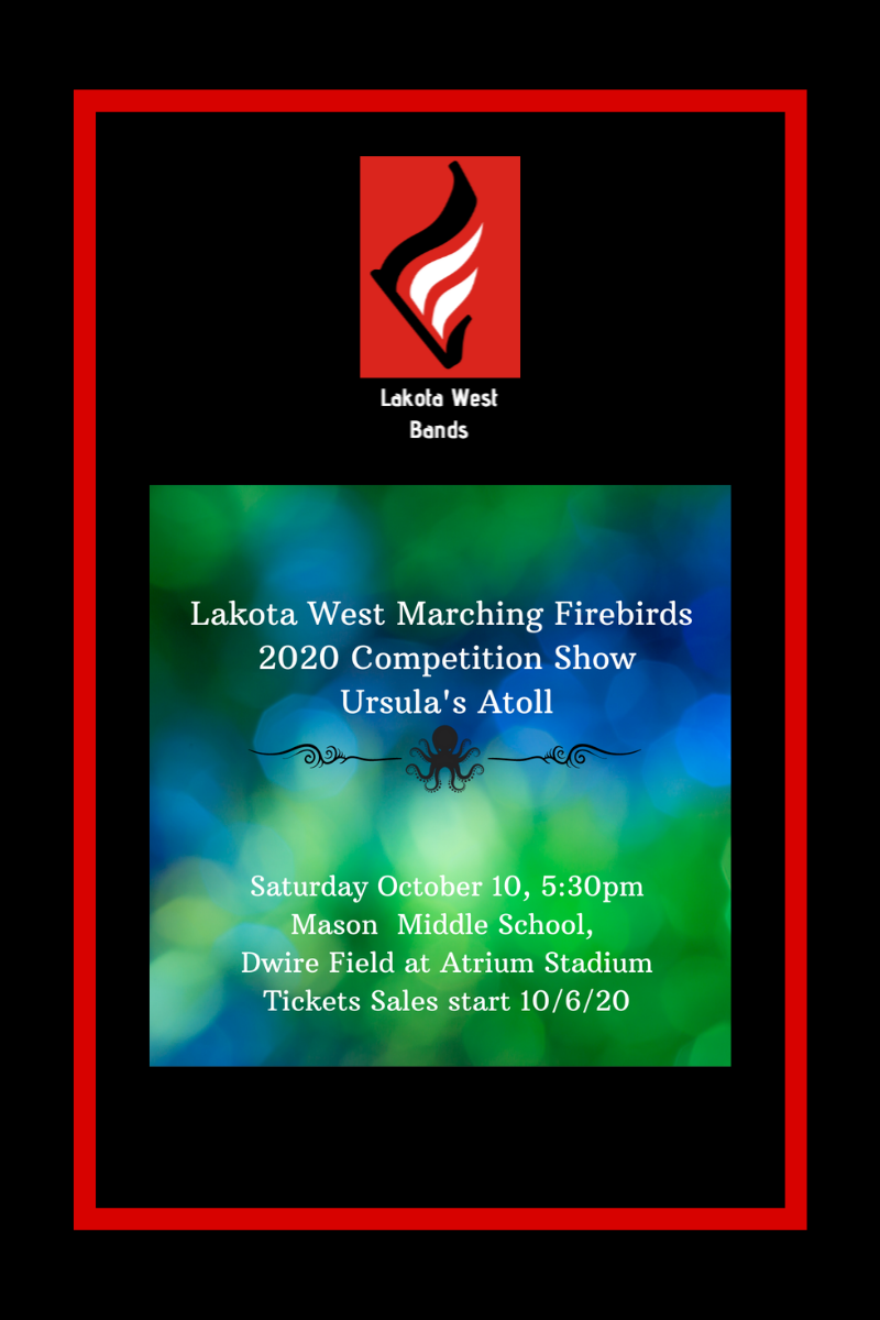 Lakota West Bands Update: October 6