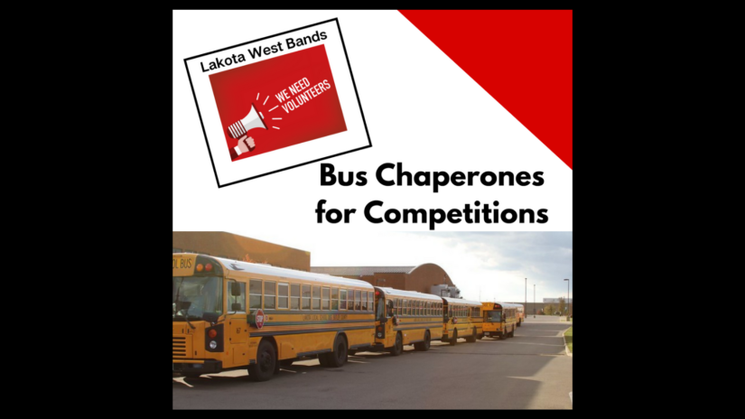Bus Chaperones for Competitions!